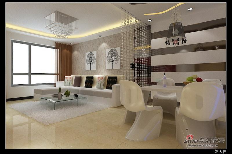 简约 二居 客厅图片来自用户2739153147在现代简约设计88的分享