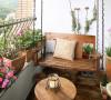 花园般的阳台