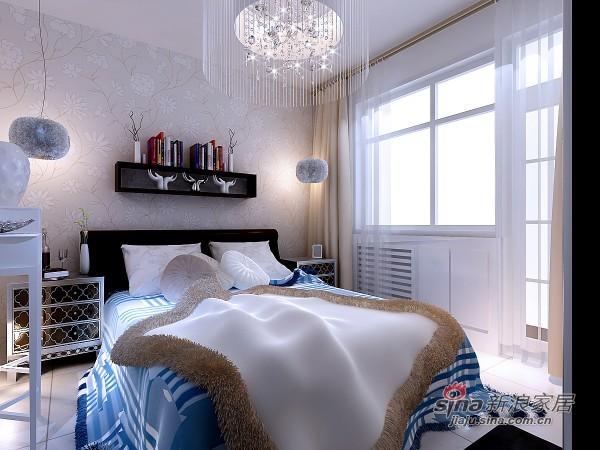 简约 二居 卧室图片来自用户2737735823在亮丽明快的现代两居80的分享