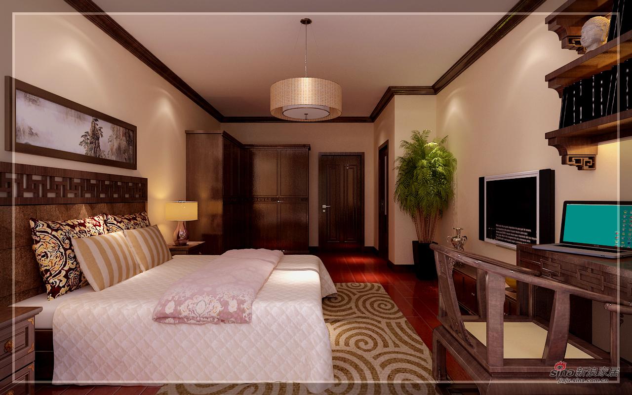 欧式 四居 卧室图片来自用户2772856065在新中式古典的分享
