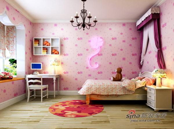 田园 四居 儿童房图片来自用户2557006183在顺义新城田园之美29的分享