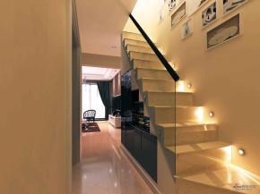港式 三居 楼梯图片来自用户1907650565在稳重的港式公寓32的分享