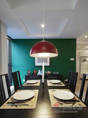 现代 三居 餐厅 文艺青年图片来自装修微日记在【高清】89平宜家现代风格三居室66的分享
