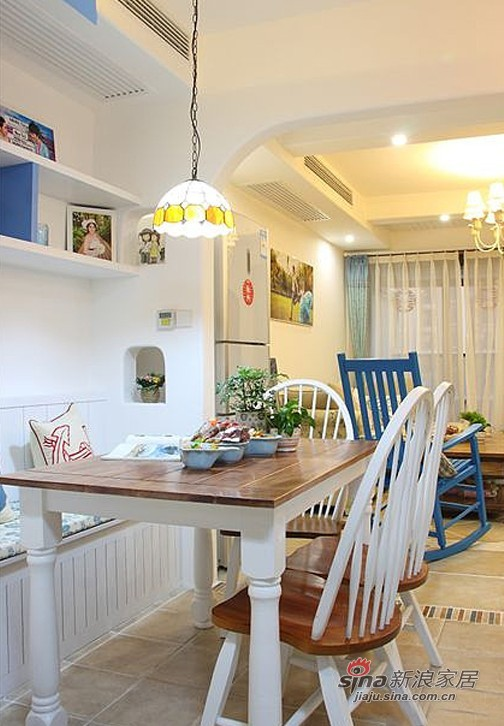 地中海 二居 餐厅图片来自用户2756243717在贤惠太太晒91平网购地中海2居31的分享