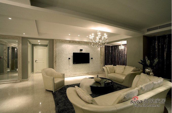 简约 三居 客厅图片来自用户2737759857在12万打造110平后现代风格59的分享