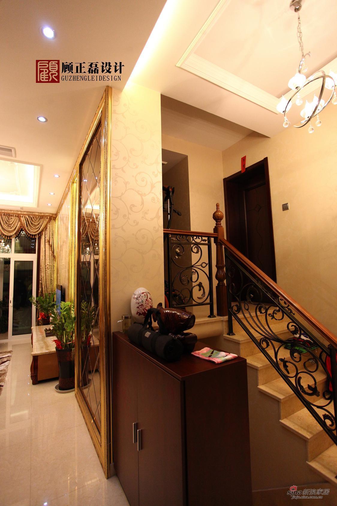 欧式 三居 楼梯图片来自用户2746869241在【高清】100平米简约欧式居住空间13的分享