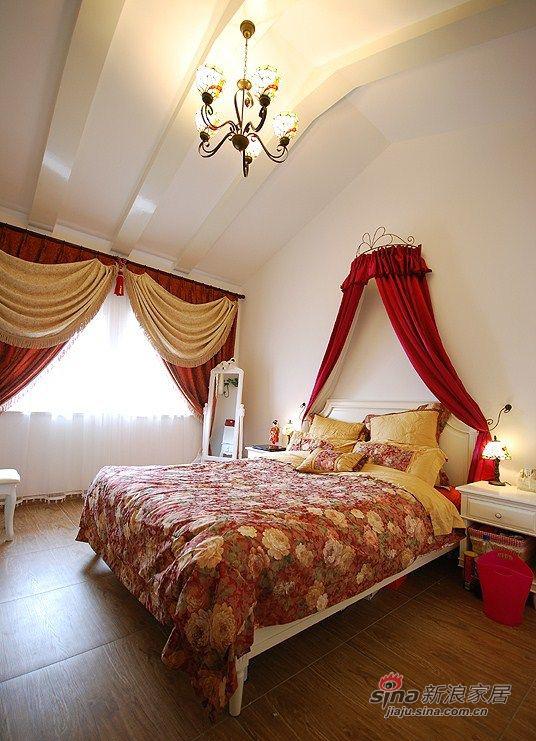 地中海 复式 卧室 欧式 奢华 公主房图片来自用户2757320995在清新地中海98的分享