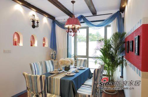 田园 loft 餐厅图片来自用户2557006183在8万铸造现代田园风格loft59的分享
