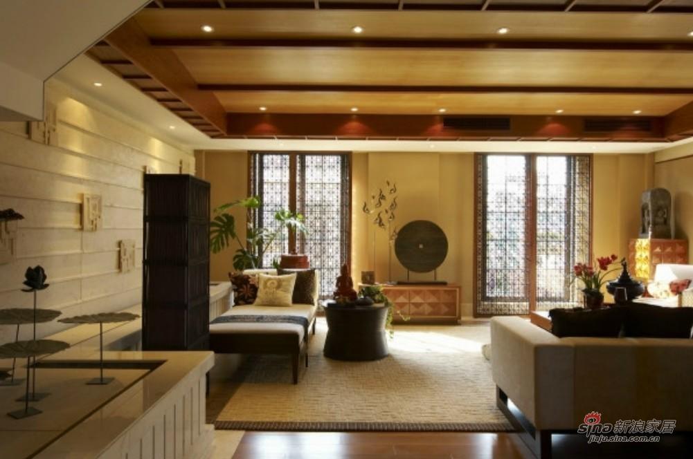 其他 别墅 客厅图片来自用户2558746857在实景图泰式200平复式别墅83的分享