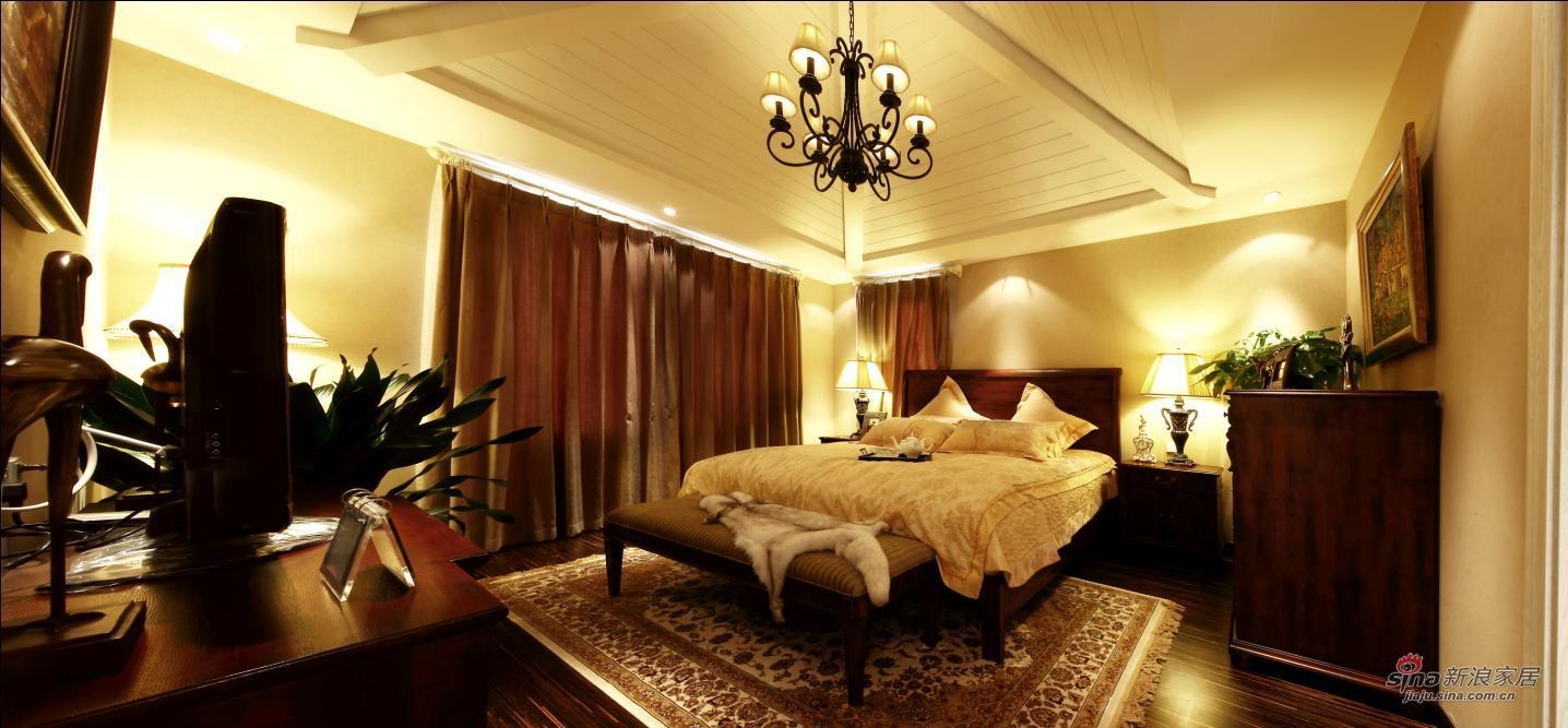 欧式 别墅 卧室图片来自用户2745758987在【多图】龙湖400平米托斯卡纳风情70的分享