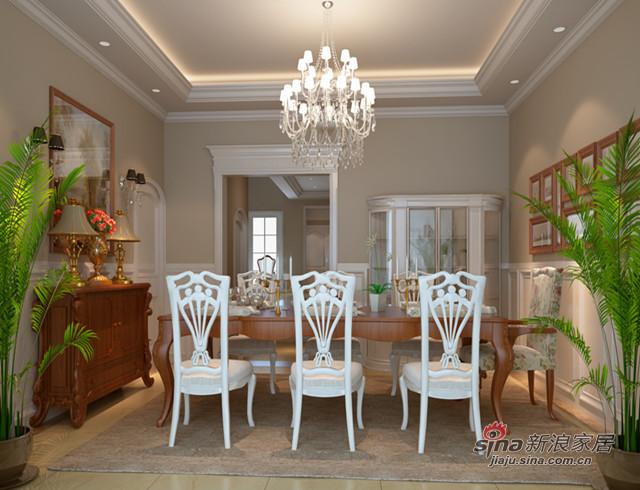 欧式 别墅 餐厅图片来自用户2772856065在阿凯迪亚21的分享