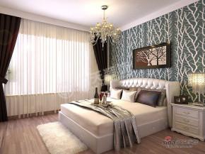 港式 三居 卧室 公主房图片来自阳光力天装饰在雍景华府-三室两厅一厨两卫-港式风格33的分享