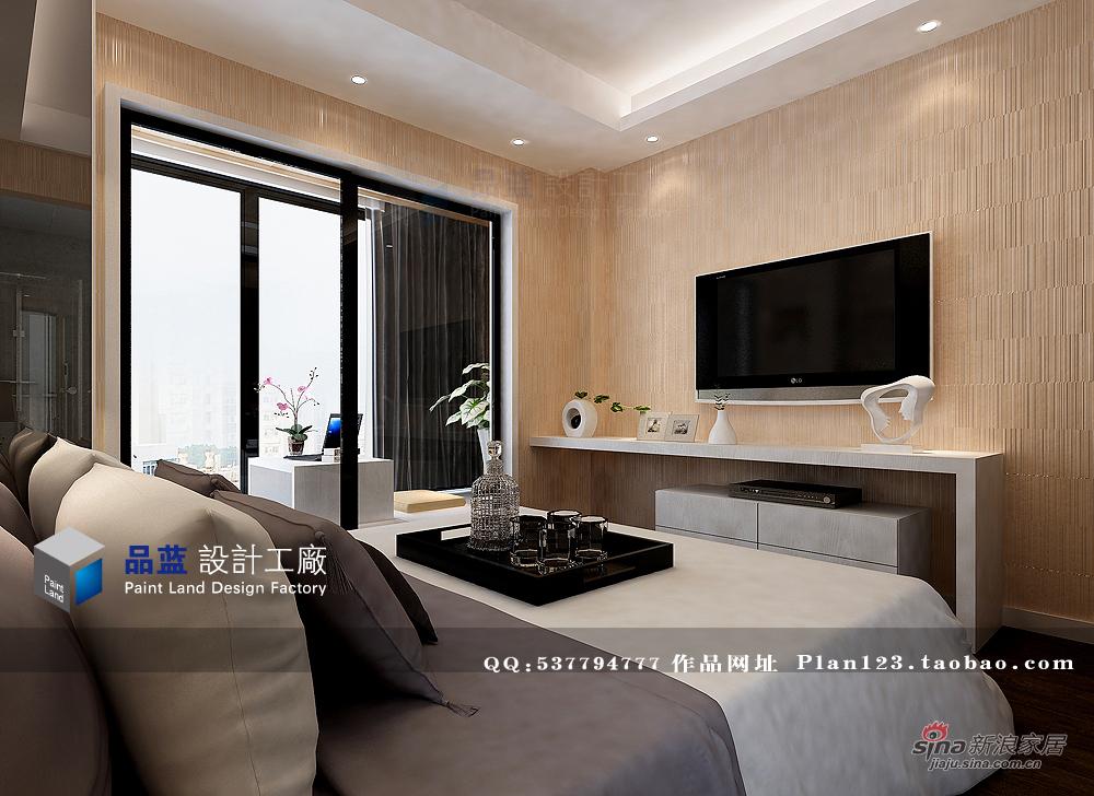 简约 三居 卧室图片来自用户2738093703在【高清】品质生活125平米样板房90的分享