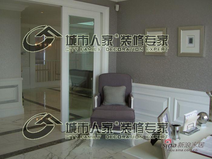 欧式 别墅 书房图片来自用户2557013183在天津城市人家——蓟县别墅简欧风格26的分享