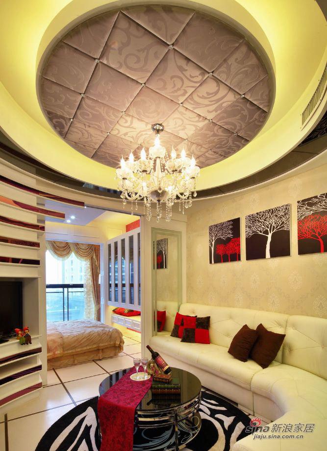 简约 二居 客厅图片来自佰辰生活装饰在12万打造49平温馨时尚二人世界27的分享