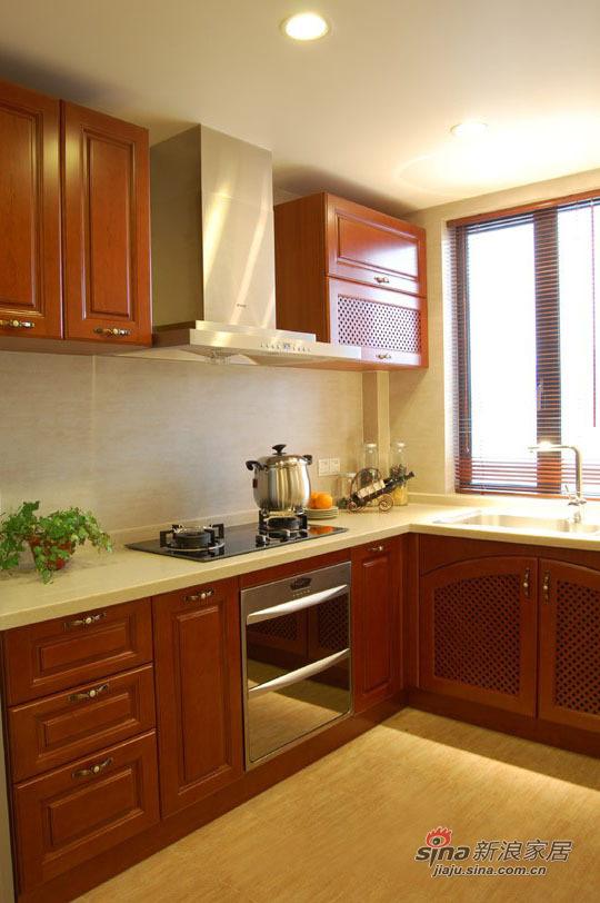 中式 三居 厨房图片来自用户1907659705在中式情节140平老房高贵雅致妆32的分享
