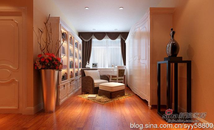 欧式 四居 玄关图片来自用户2746889121在海归打造简欧风格幸福时代四居室93的分享