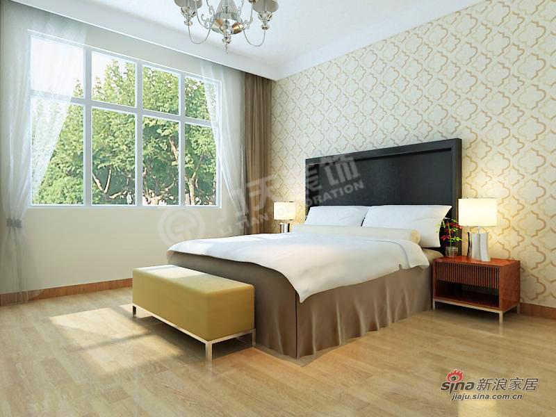 简约 二居 卧室图片来自阳光力天装饰在天津大都会-2室2厅2卫-现代风格11的分享