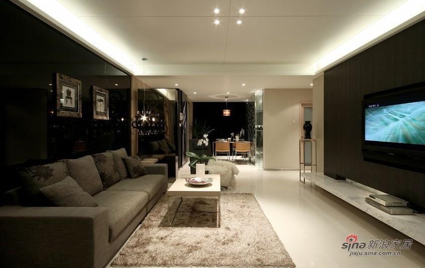 简约 三居 客厅图片来自用户2737782783在年轻业主89㎡时尚三口之家设计33的分享