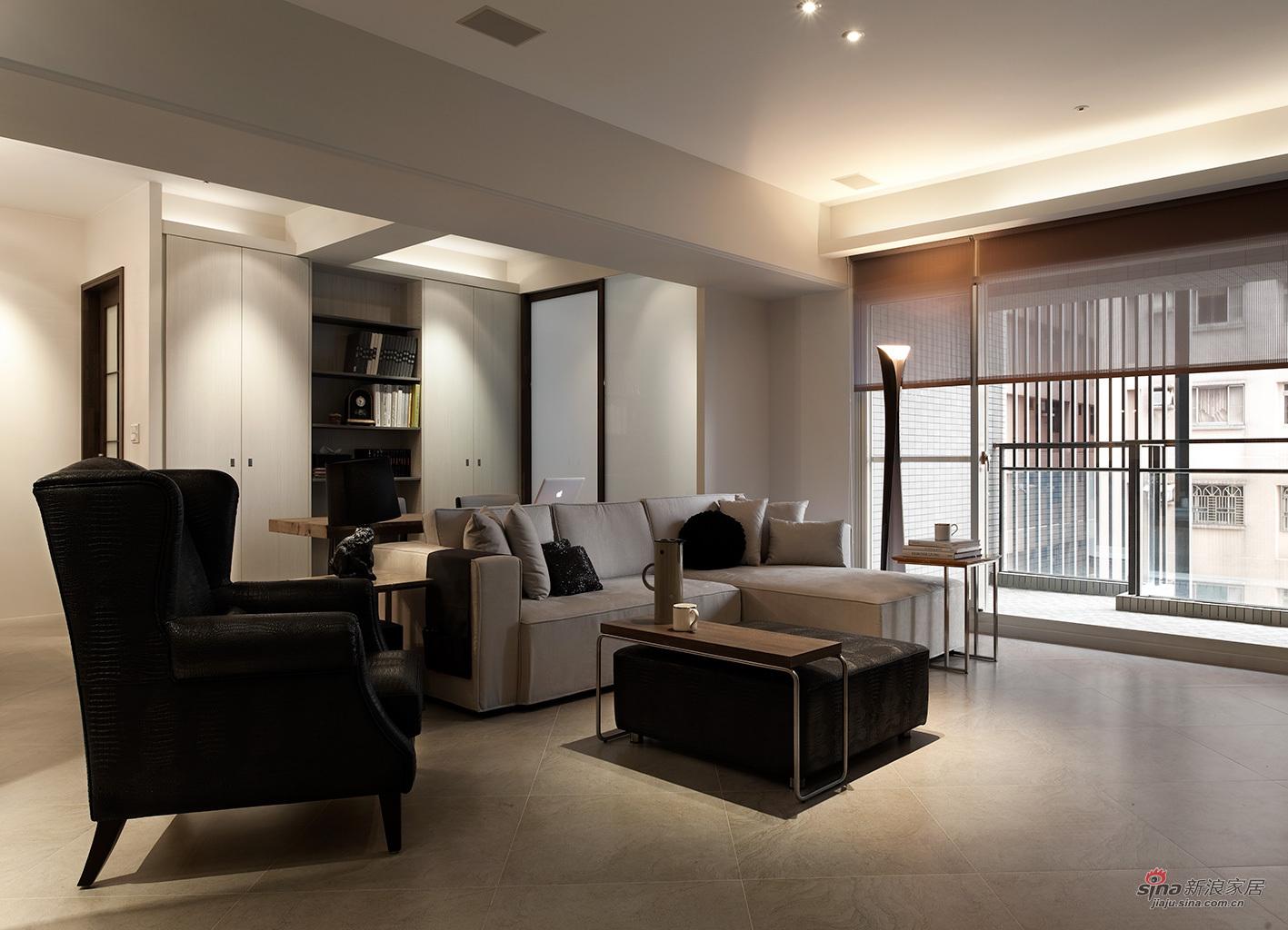 简约 二居 客厅图片来自用户2738093703在港式二居室88的分享