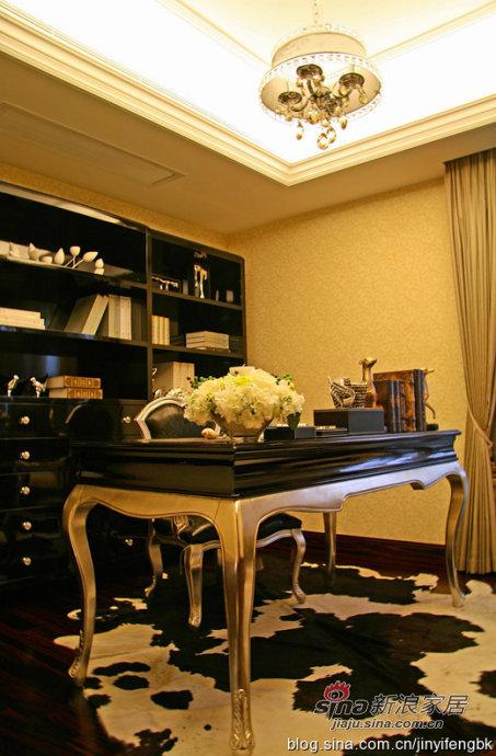 欧式 其他 书房图片来自用户2746948411在180方三房两厅城市奢华风格搭配中国风80的分享