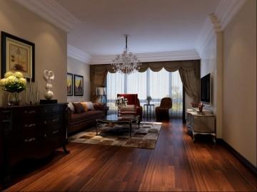 120平米3居室低调稳重的欧式风格28