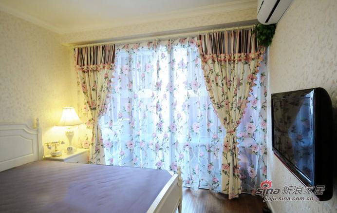 田园 一居 卧室图片来自装修微日记在【高清】单身女37平清新田园一居室34的分享