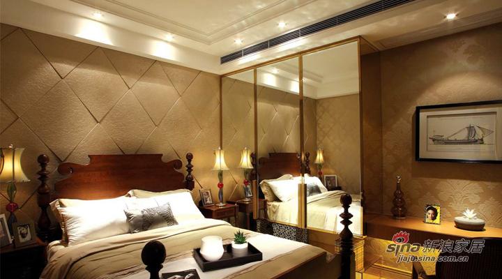 简约 三居 卧室图片来自用户2738845145在119平现代简约装修设计案例76的分享