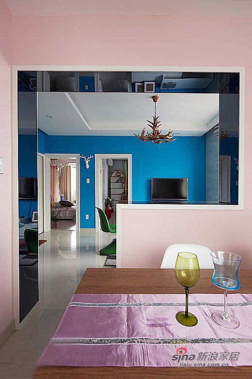 简约 二居 餐厅图片来自用户2737786973在58平米老房翻新 标准二居设计59的分享