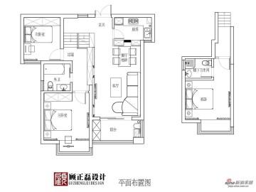 【高清】100平米简约欧式居住空间13