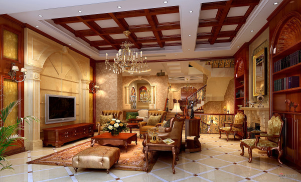 欧式风格500平米大别墅