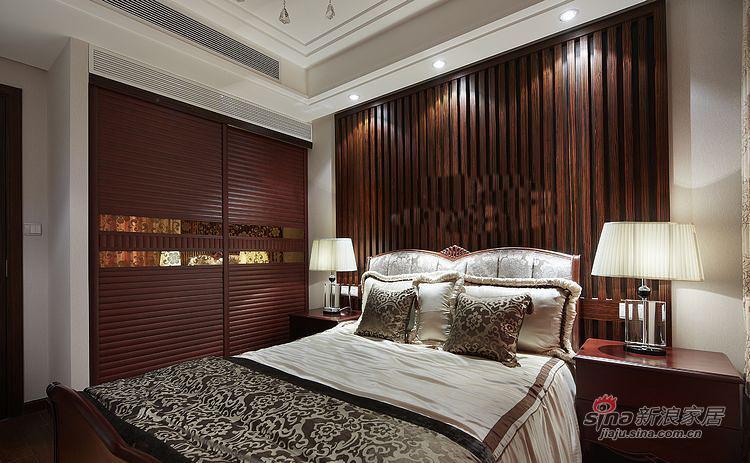 新古典 四居 卧室图片来自装修微日记在【高清】161平古典韵味时尚4居室93的分享