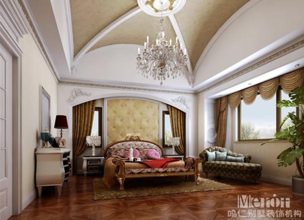 整个卧室的空间扩展地更宽广