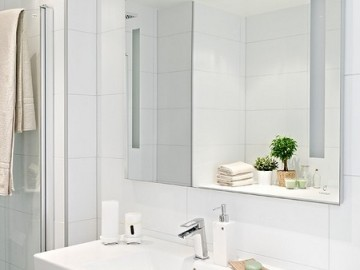 65平米的白色原生态公寓16