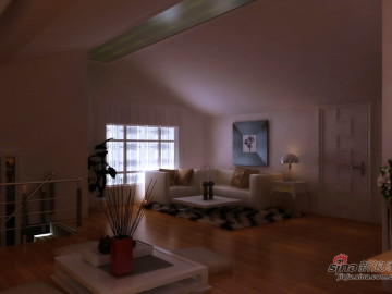 这样的阁楼谁不爱---100㎡紫竹名郡8万巧妙装76