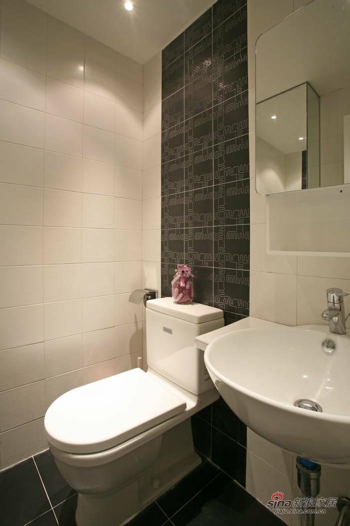 简约 二居 卫生间图片来自用户2737735823在7万打造105平现代简约婚房55的分享