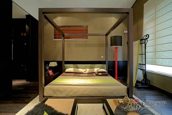 中式 四居 客厅图片来自用户1907696363在270平古色古香中式13万装26的分享