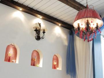 120平地中海风情完美婚房的浪漫59