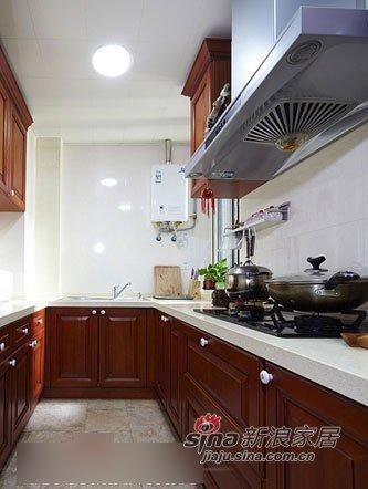 中式 二居 厨房图片来自用户1907696363在淑女打造68平新潮中式闺房12的分享