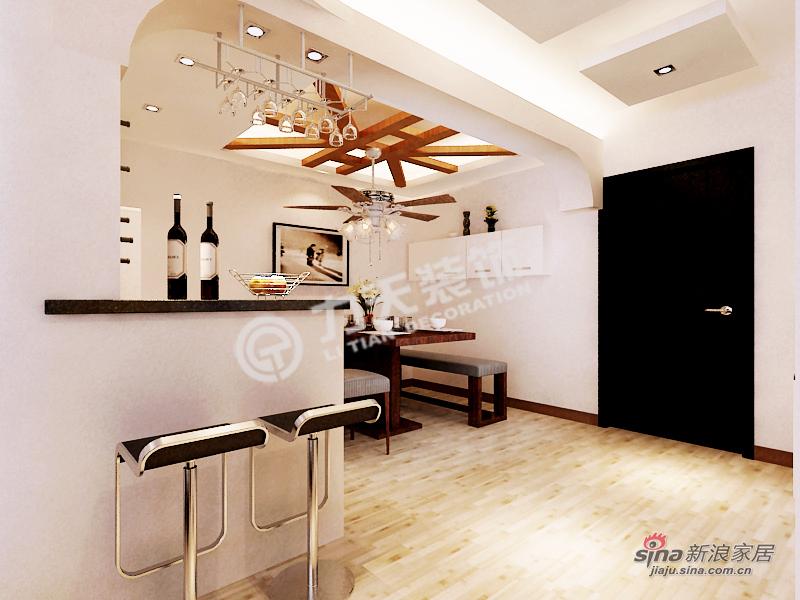 简约 三居 餐厅图片来自阳光力天装饰在和平时光 -3室2厅1厨1卫-现代简约55的分享