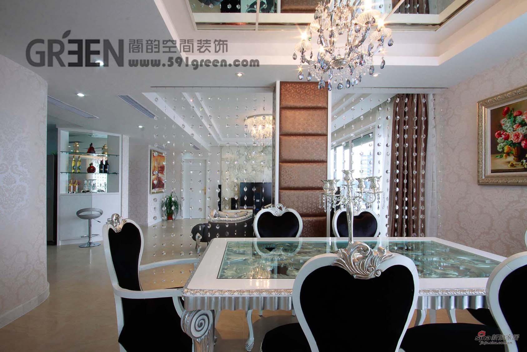 欧式 三居 餐厅图片来自用户2772873991在黄浦江岸的豪宅43的分享