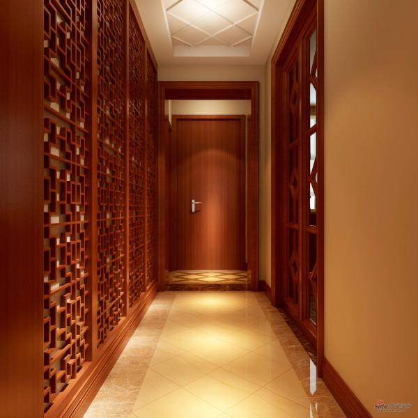 新中式320平米别墅典雅风格
