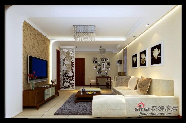 简约 二居 客厅图片来自用户2738845145在我们的爱不只80平米64的分享