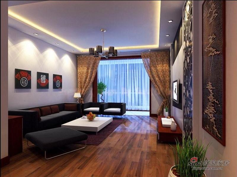 简约 一居 客厅图片来自用户2738820801在24号院色彩元素之家48的分享