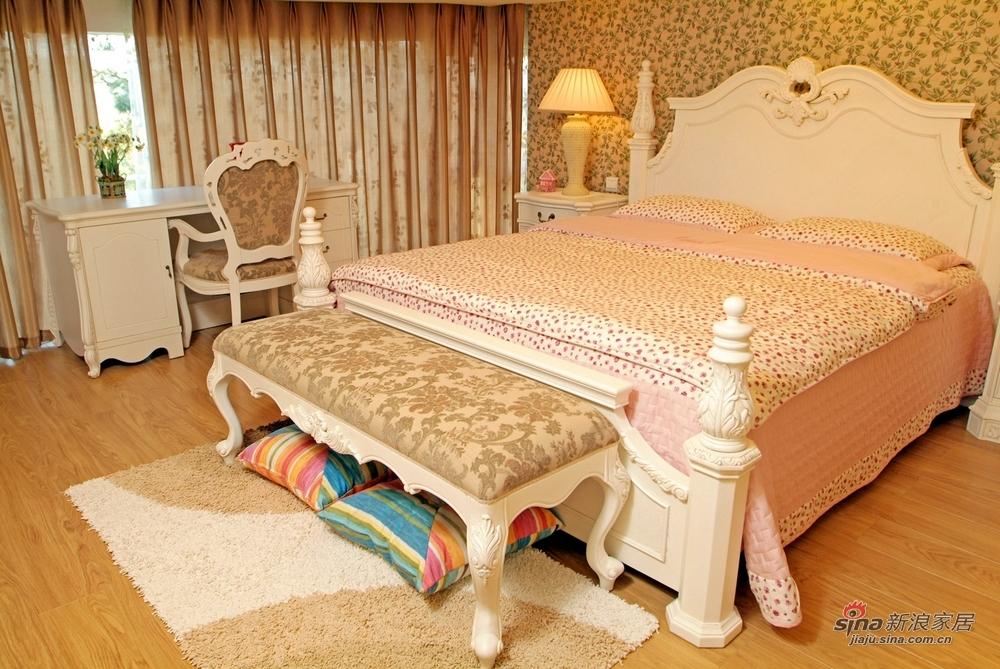 田园 四居 卧室图片来自用户2557006183在【多图】乡村田园风格39的分享