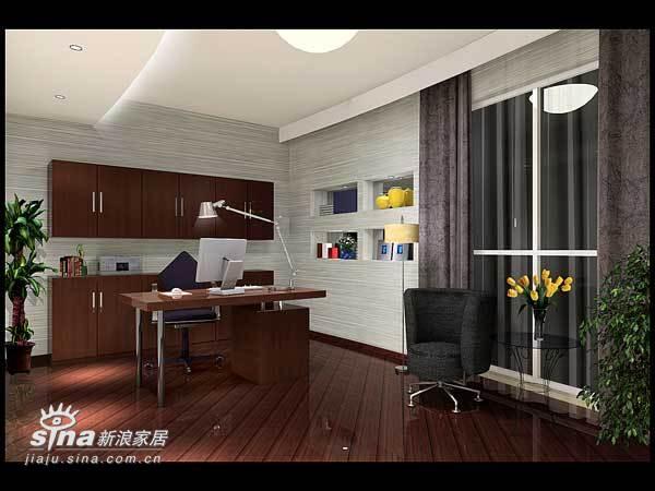 简约 三居 书房图片来自用户2738845145在室内设计26的分享