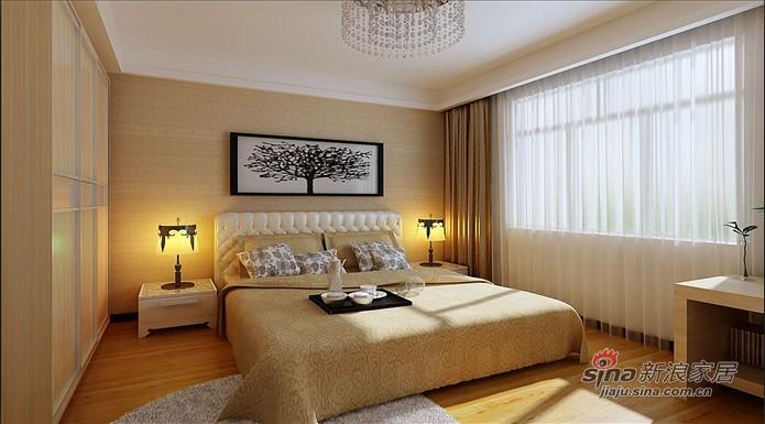 简约 三居 卧室图片来自用户2558728947在9.29万打造【东辉明珠园】145平 现代简约 三居38的分享