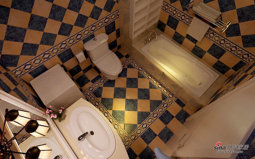 欧式 二居 卫生间图片来自用户2746953981在6.4万元 打造松浦观江国际 欧式风格10的分享