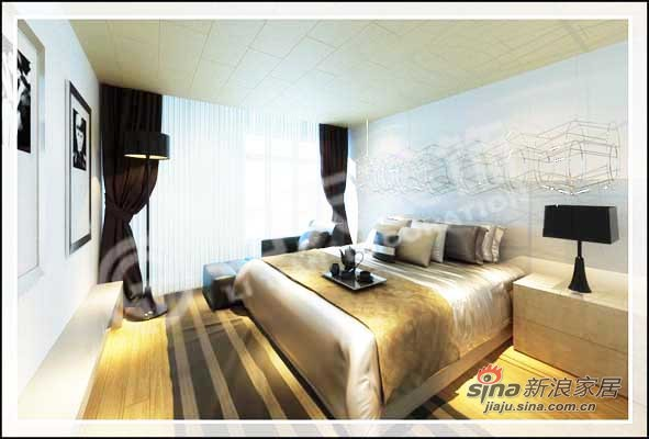 中式 三居 卧室图片来自阳光力天装饰在138平儒雅诗意中式风情14的分享