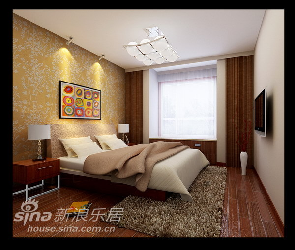 简约 二居 客厅图片来自用户2737786973在4.8万打造98平另类的简约现代风17的分享